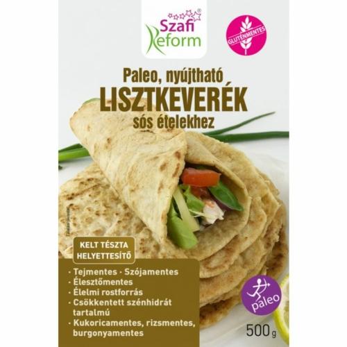 Szafi Reform Nyújtható sós kelt tészta helyettesítő liszt (gluténmentes, paleo és vegán) 500 g