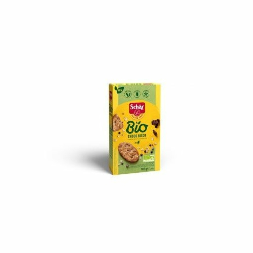 Schär Bio gluténmentes zabkeksz, csokoládés, 105 g