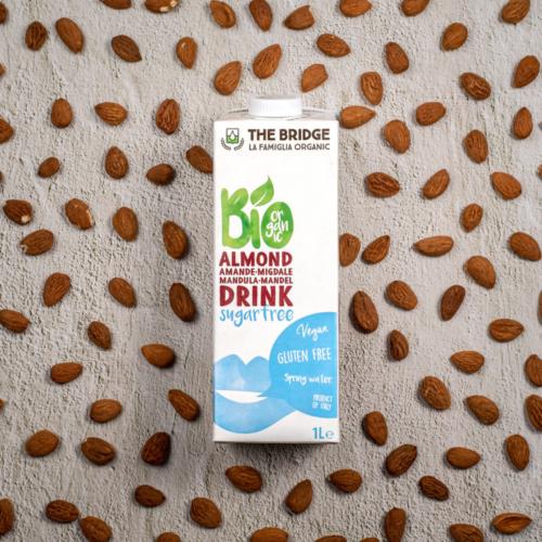Bio natúr 3%-os mandulaital cukormentes, 1 l