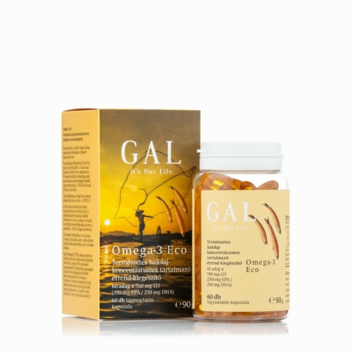 GAL Omega-3 Eco Halolaj kapszula, 60 db