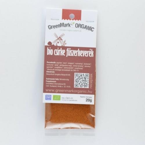 Bio csirke fűszerkeverék, 20 g
