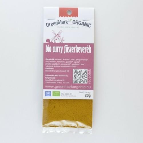 Bio Curry fűszerkeverék, 20 g