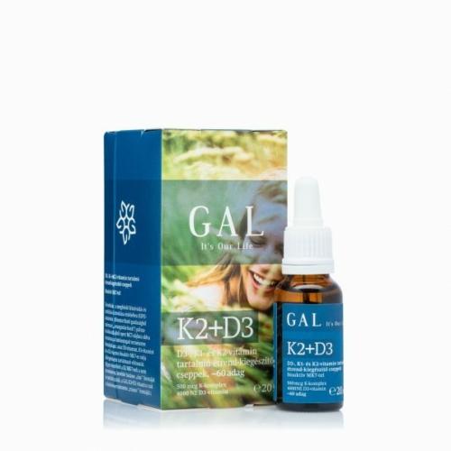 GAL K2+D3 vitamin, 20 ml