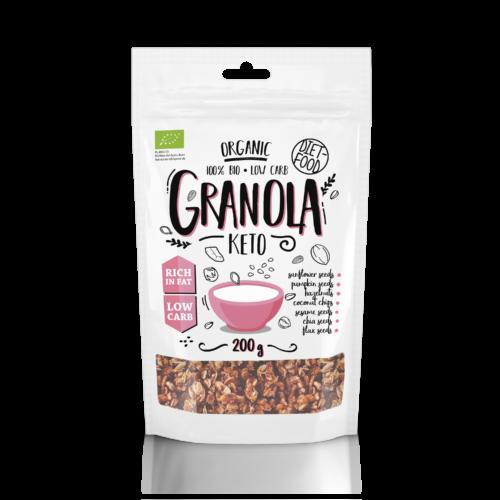 Bio Ketogén granola