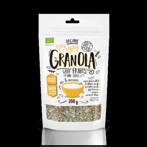 Bio Granola gyümölcsökkel, 200 g