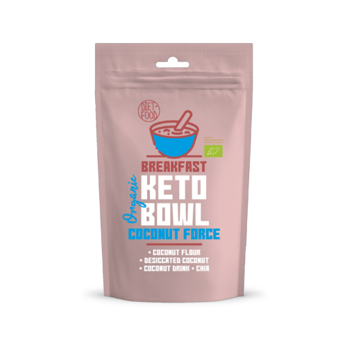 Keto Bowl Ketogén reggeli, Coconut Force, 200 g