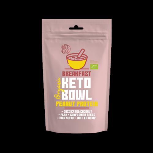 Keto Bowl Ketogén reggeli földimogyoró fehérjével