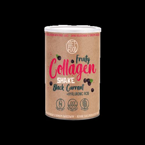 Prémium gyümölcsös kollagén shake hialuronsavval, feketeribizlis, 300 g
