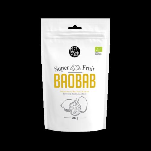 Bio baobab gyümölcs por