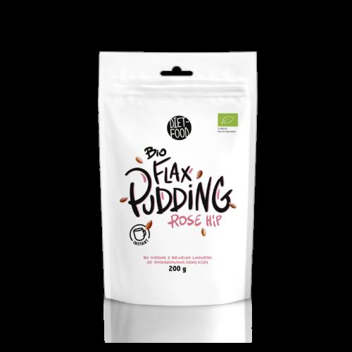 Bio flax pudding csipkebogyós