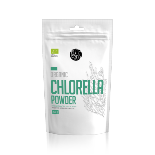 Bio Chlorella alga por