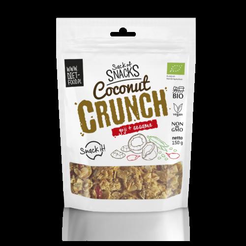 Bio kókuszdió chips gojival és szezámmaggal