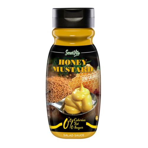 Servivita Zero Mézes-mustáros szósz, 320 ml