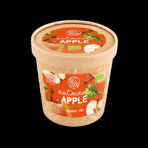 Bio poharas zabkása, almás, 70g
