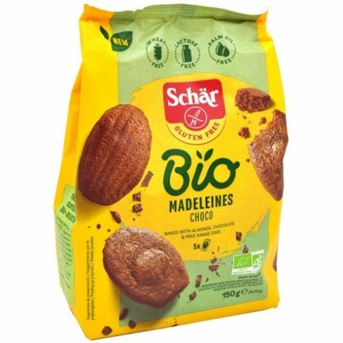 Schär Bio gluténmentes teasütemény, csokoládés, 150 g